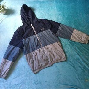 WESC• Hooded Zip Light Jacket / Windbreaker Magnus